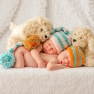 Chicago newborn photographer twins
